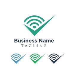 Signal logo icon Vector