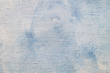Detail of old canvas