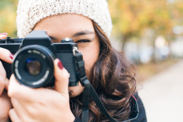 Ready to shoot camera