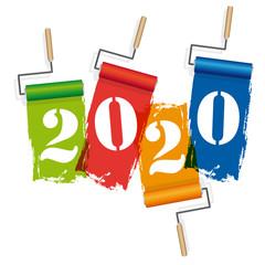 2020-Rouleaux de peinture