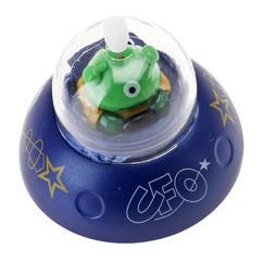 Außerirdisches Männchen im UFO (Spielzeug zum Aufziehen)
