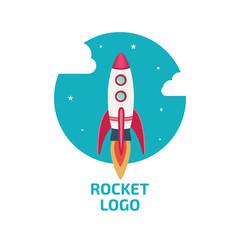 Rocket logo one