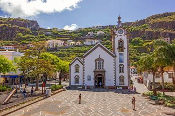 Village church of Ribeira Brava, Madeira