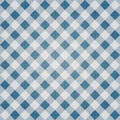 Seamless textile cloth pattern. Checkered ornament