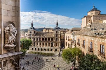Ayuntamiento de Toledo visto desde la Catedral