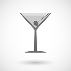 Illustration of a cocktail glass