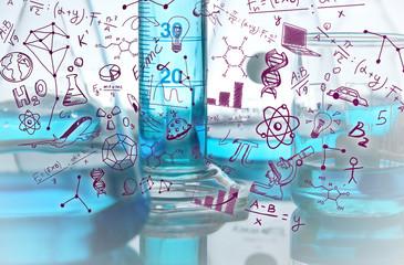beuta, disegni, laboratorio, scarabocchi, chimica