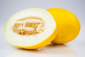 Żółty melon