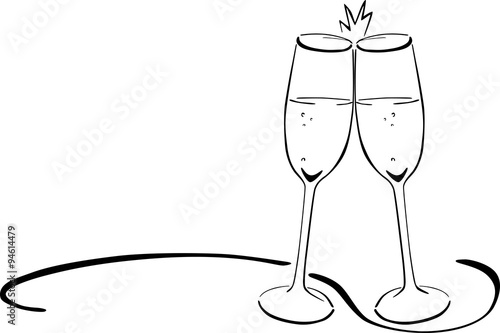 quot sektgl u00e4ser ansto u00dfen   silvester   neujahr quot  stockfotos cocktail clip art free images cocktail clipart svg
