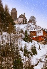 Wall Mural - Castle Schwaz in Austria