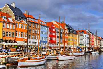 Photo sur Plexiglas Scandinavie Denmark Copenhagen Nyhavn