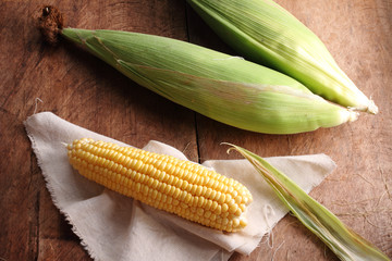 yellow sweet corn.