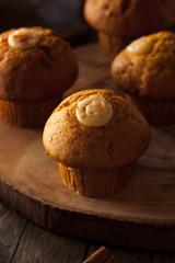 Homemade Pumpkin Spice Muffins