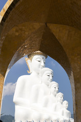 Big Buddha statue at Wat Phra Thart Pha Son Kaew