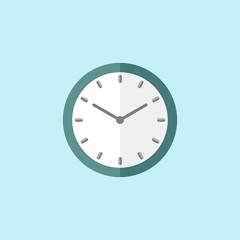 Flat Icon Of Clock. Eps.-10.