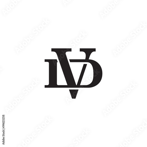 Letter d and v monogram logo stock image and royalty free vector letter d and v monogram logo thecheapjerseys Gallery