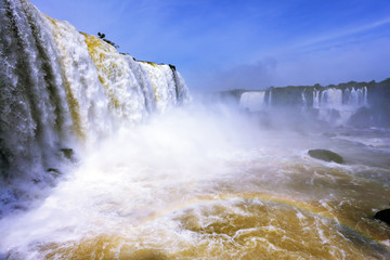 The most high-water waterfall - Iguazu