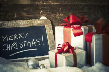Merry Christmas slate