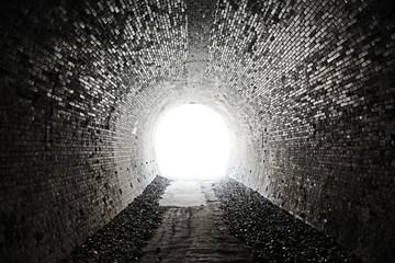 Foto auf Acrylglas Tunel Tunnel