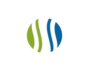 abstract logo ss
