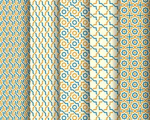 Set of Arabic patterns
