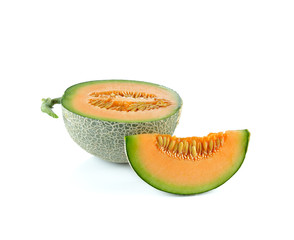 Melon Japan on white background