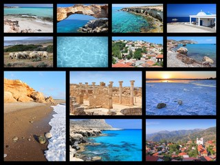 Cyprus - travel collage