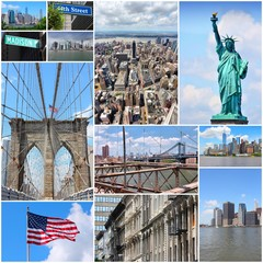 New York - travel collage