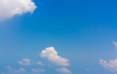 Beautiful sky and cloud at sunny day