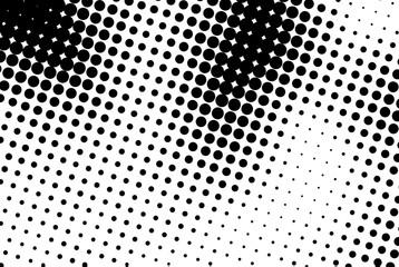 Abstract background with black dots.
