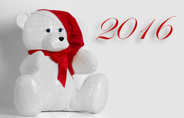 beautiful toy bear wishes Merry Christmas
