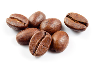 Photo sur Plexiglas Café en grains Coffee beans isolated