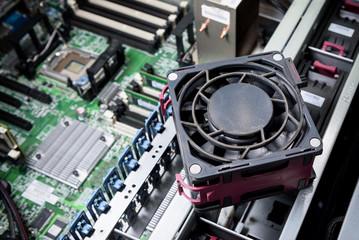 maintenance cooling system of computer server