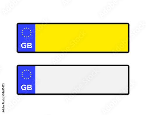 free printable license plate template trattorialeondoro