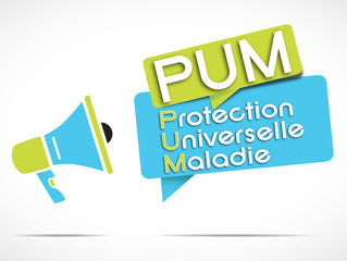 megaphone : PUM acronyme
