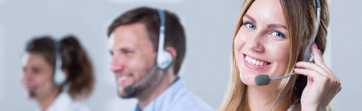 Working in call centre