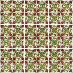 Fotomurales - Floral background. Ceramic tile