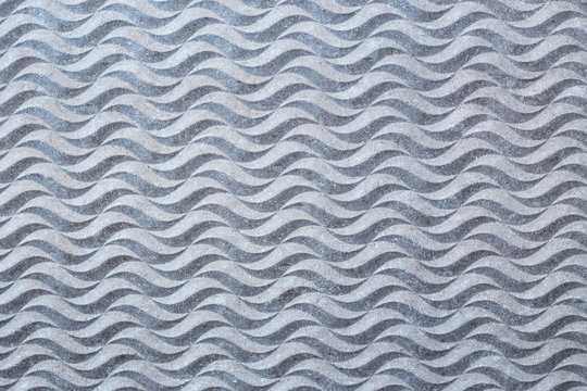 Cement background with wavy texture