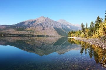 Wall Mural - Lake McDonald Fall Colors Glacier National Park