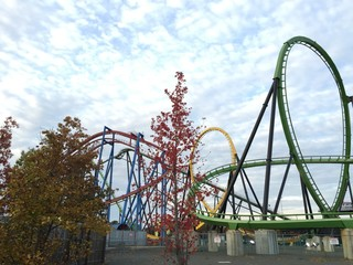 Rollercoster in new jersey