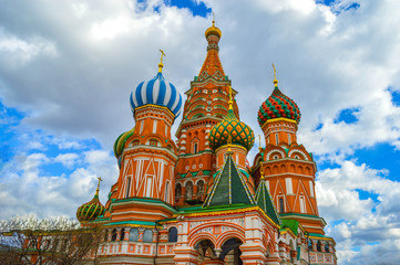 Cathedral of St. Basil (Moscow downtown)