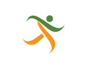 Success logo people