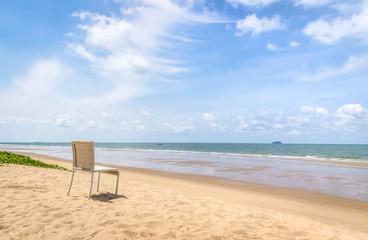 chair on the beach