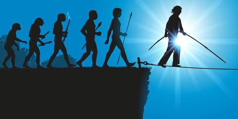 Hommes Evolution Funambule