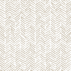 Photo sur Aluminium Style Boho Smeared herringbone seamless pattern design