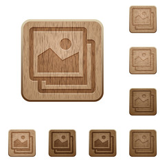 Images wooden buttons