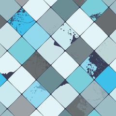 Vector ceramic seamless pattern