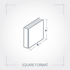 Icon of square format photobook