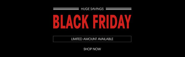 Black friday sale deals web banner