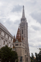 Matthias Church in Buda Oldtown - Budapest, Czech Republic